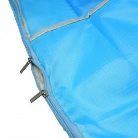 Tas Organizer Penyimpan Selimut Pakaian 58x40x22cm - Blue - 3