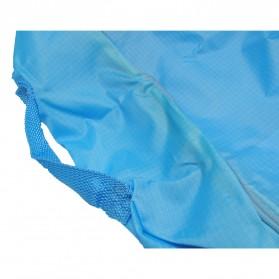 Tas Organizer Penyimpan Selimut Pakaian 58x40x22cm - Blue - 4