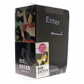 Bantal Anti Stress USB Big Enter Key - Black - 5
