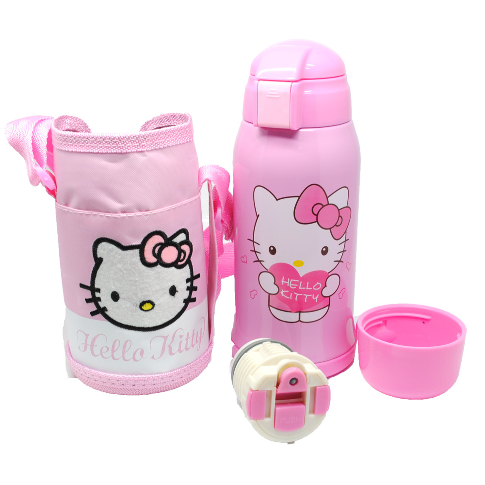 ... Botol Thermos Doraemon Hello Kitty Stainless Steel 600ML - Pink - 1 ...
