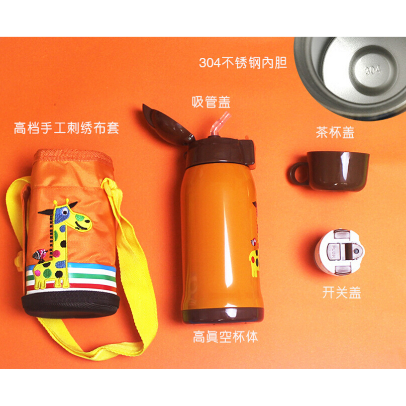 965a1f6ee ... Botol Thermos Doraemon Hello Kitty Stainless Steel 600ML - Pink - 4 ...