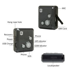 GPS Tracker Mini - V16 - Black - 3