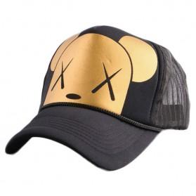 Topi Baseball Dog Design - Golden - 1