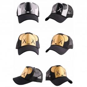 Topi Baseball Dog Design - Golden - 5