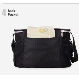 Insular Tas Stroller Fashion Mummy Bag Insulated Thermal - 7233 - Black - 2
