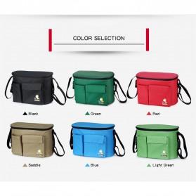 Insular Tas Stroller Fashion Mummy Bag Insulated Thermal - 7233 - Black - 4