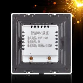 Stop Kontak Dinding 6 Port USB Wall Socket - ES-USB-6 - White - 2
