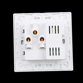 Stop Kontak Universal UK EU US & 2 Port USB Wall Socket - White - 3