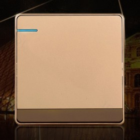 Saklar Lampu 86 Type 1 Switch - SH-RF601 - Golden - 3