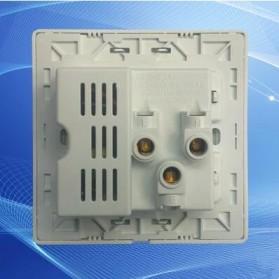 Stop Kontak Universal UK EU US & 2 Port USB 2.1A - 118 - White - 2