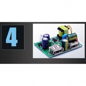 Stop Kontak Universal UK EU US & 2 Port USB 2.1A - 118 - White - 4