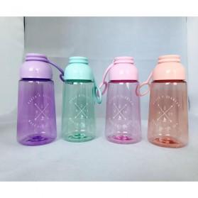 Botol Minum Plastik Lucu - Blue - 2