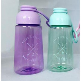 Botol Minum Plastik Lucu - Blue - 3