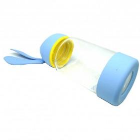 Botol Minum Kaca Lucu Model Kelinci - SM-8581 - Blue - 3