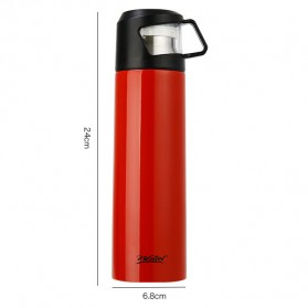 Warhead Botol Thermos Cup Head Vacuum Thermos Cup 500ml - H-60 - Black - 4