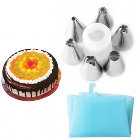 Corong Semprot Penghias Dekorasi Cream Kue Adonan
