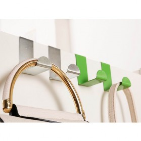 Hanger Gantungan Pintu Stainless Steel 2 PCS - JY-585 - Multi-Color - 2