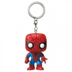 Pocket POP! Gantungan Kunci Marvel Model Spiderman