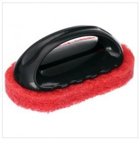 Sikat Sponge Pembersih Dapur - Black/Red