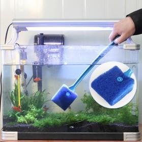 Sikat Sponge Pembersih Aquarium - Blue