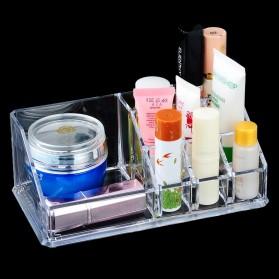 Kotak Organizer Make Up Kosmetik - Transparent