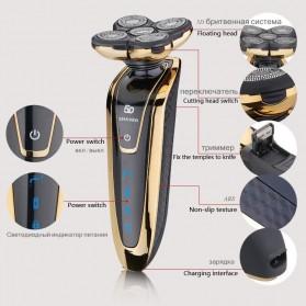 Electric Shaver Alat Cukur Elektrik 5 Blade Comfortcut System - Silver - 2