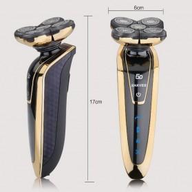 Electric Shaver Alat Cukur Elektrik 5 Blade Comfortcut System - Silver - 5