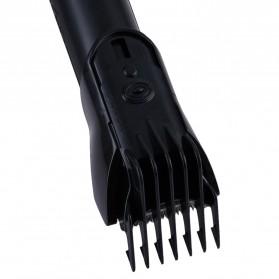 Kemei Alat Cukur Elektrik 5 in 1 Hair Trimmer Shaver - KM-8058 - Red - 9