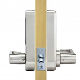 L&S Gagang Pintu Elektrik Touchsreen Digital Lock Smart Home - OS8818 - Silver - 3