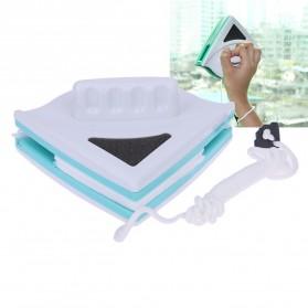 Sikat Pembersih Kaca Jendela Magnetic - Green