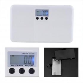 Timbangan Badan Elektronik Memory Function 150kg - LX-02 - White - 4