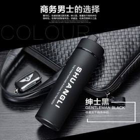 Shuangli Botol Minum Termos Office 480ml - SL-055 - Black - 3