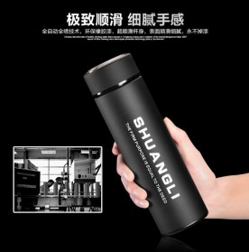 Shuangli Botol Minum Termos Office 480ml - SL-055 - Black - 4