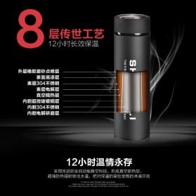 Shuangli Botol Minum Termos Office 480ml - SL-055 - Black - 6