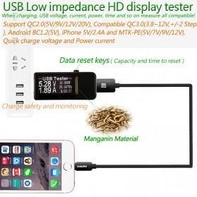 DC Voltmeter USB Tester - Black - 2