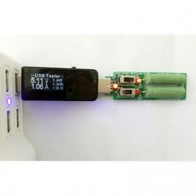 DC Voltmeter USB Tester - Black - 4
