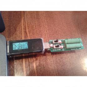 DC Voltmeter USB Tester - Black - 8