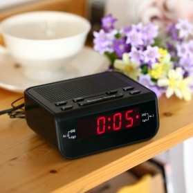 Jam Meja LED Digital Clock dengan FM Radio - CR-246 - Black - 9