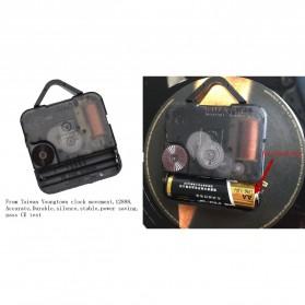 Jam Dinding Quartz Creative Design Model Hollow Star Wars - NS006 - Black - 5