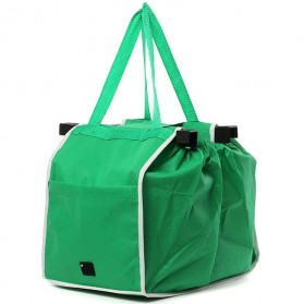 Tas Belanja Grocery Tote Bag Go Green - Green