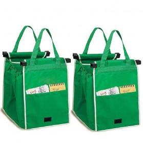 Tas Belanja Grocery Tote Bag Go Green - Green - 2