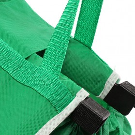 Tas Belanja Grocery Tote Bag Go Green - Green - 3