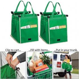 Tas Belanja Grocery Tote Bag Go Green - Green - 5