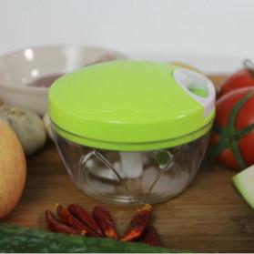 Juxin Speedy Chopper Blender Tangan Pemotong Daging Bawang Buah dan Sayuran - JX588 - Green