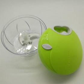 Juxin Speedy Chopper Blender Tangan Pemotong Daging Bawang Buah dan Sayuran - JX588 - Green - 3