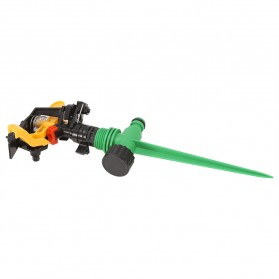 LeKing Rotate Sprinkler Spray Nozzle Air Irigasi Taman 1/2 inch - 10321 - Green - 2