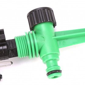 LeKing Rotate Sprinkler Spray Nozzle Air Irigasi Taman 1/2 inch - 10321 - Green - 6