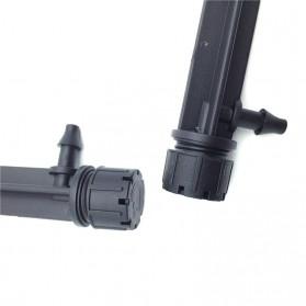 Water Mist Sprinkler Drip Irigasi Penyiram Air Taman Nozzle Spray 360 Derajat 10 PCS - Black - 3