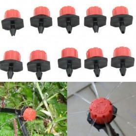 Micro Nozzle Spray Sprinkler Air Taman 8 Lubang 50PCS - Black