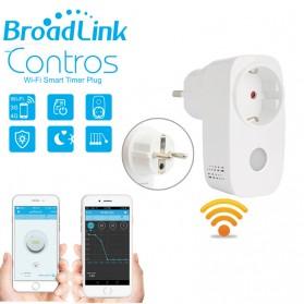 Broadlink Stop Kontak Smart Plug WiFi Timer EU Plug - SP3 - White